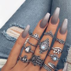 """23.6k Likes, 111 Comments - BretmanRock Makeup Page (@bretmansvanity) on Instagram: """"Omg I'm Inlove with these rings  @indigo_lune -Mae"""""""