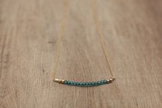 Hey, I found this really awesome Etsy listing at https://www.etsy.com/listing/250557244/delicate-long-rough-gemstone-bar