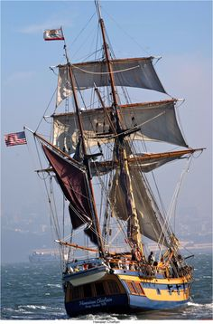 THE HAWAIIAN CHIEFTAIN. It was a blessing to tour this ship in Ventura Harbor 2/18/15. KT