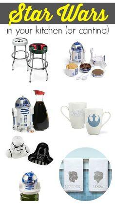 Star Wars in your Kitchen #StarWars #Kitchen
