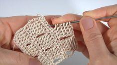 Easy Knitting Patterns, Crochet Blanket Patterns, Crochet Motif, Free Crochet, Crochet Top, Crochet Unique, Crotchet Stitches, Crochet Videos, Crochet Bikini