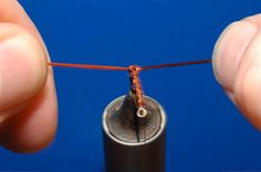 How To Make a Woven Body by John Terje Refsahl | Hatches Fly Tying Magazine
