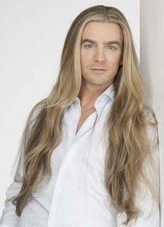 blonde men with long hair | Do you prefer short or long hair on a guy/girl?