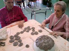 "Spirali - Ceramic lab. RSA ""La Risaia"" - nursing home - www.facebook.com/animarisaia #rsa #casa di riposo"