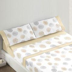 Burrito Blanco juego de sabanas de verano diseño 431 beig camas de 135