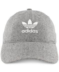 adidas Originals Faux-Suede Cap