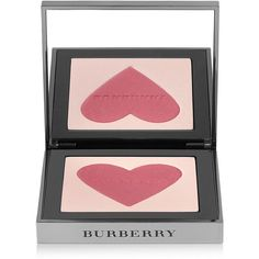 Burberry Beauty Blush Highlighter - London With Love ($68) ❤ liked on Polyvore featuring beauty products, makeup, cheek makeup, blush, burberry blush, burberry and powder blush