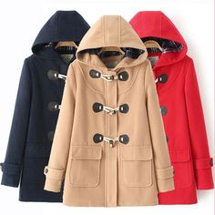 Harajuku students hooded jacket