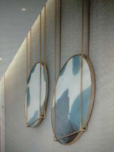 24 Ideas For Travel Photos Display Inspiration Wall Treatments, Interior Walls, Wall Sculptures, Resin Art, Wall Design, Decoration, Interior Architecture, Wall Art Decor, Furniture Design