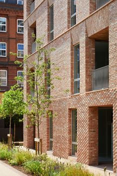 Gallery of Belle Vue Senior Residence / Morris+Company - 13 Architecture Design, Facade Design, Chinese Architecture, Brick Building, Building Design, Residence Senior, Facade Engineering, Architecture Religieuse, Architects Journal