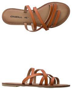 ec7eebfa95bedf O NEILL LEGEND CRISS CROSS STRAP SANDAL Image Rubber Sandals