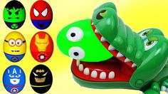 Learn Colors With Surprise Eggs Dinosaurs for Childern, Toddlers - Colou...
