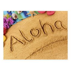 #Aloha Postcard - #beach #travel #beachlife