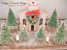 ChiPPy! - SHaBBy!: *~ViNtaGe Christmas~* HoLiDay REINDEER Adornments...
