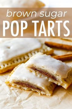 If you like pop-tarts, you will love my Homemade Frosted Brown Sugar Cinnamon Po. If you like pop-tarts, you will love my Homemade Frosted Brown Sugar Cinnamon Pop-Tarts. from scratch. Brown Sugar Cinnamon Poptarts, Cinnamon Pop Tart, Cinnamon Desserts, Fudge Recipes, Baking Recipes, Dessert Recipes, Pop Tart Recipes, Cheesecake Recipes, Graham Crackers