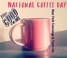I'm celebrating #NationalCoffeeDay in the #homeoffice because I'm an #entrepreneur and gotta get to work asap! Besides I like my cool #Starbucks #mug. Maybe later I'll stop by for #FreeCoffee at the local @dunkindonuts  #TourGuide #entrepreneur #Sightseeing #onlineconcierge #tourism #newyork #nyc #newyorkcity #ny #turistinewyork #turistiny #turistinyc #Nycandtours #iloveny #ilovecoffee