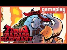 [GAMEPLAY] Tembo the Badass Elephant - Conhecendo o Game!
