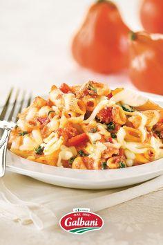 Easy Meat Recipes, Pasta Recipes, Grandma's Recipes, Dinner Recipes, Cooking Recipes, Healthy Recipes, Vegetarian Recipes, Healthy Food, Italian Dishes