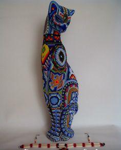 Котомания в бисере - Ярмарка Мастеров - ручная работа, handmade