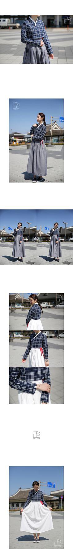Casual design Hanbok from Leesle of Sonjjang Hanbok