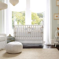 Light, bright nursery