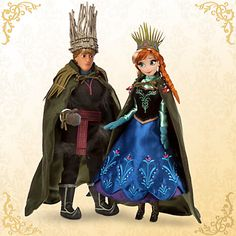 Anna and Kristoph Global Limited Edition of 6000. Shockingly, they did not sell out in seconds, so many new collectors have a chance.The first LE of the couple together. They come in a display case, and this set is a gorgeous addition to any collection.