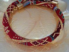 Tango Necklace-Halskette Häkelkette Schmuck von Inspirationzweig