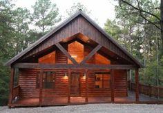 Broken Bow Luxury Vacation Cabins // Narrow Escape