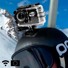If you've got an adventurous side, you don't want to miss out on this great GoFit sports camera with Wi-Fi! We're sure that you've never tried out a product like this before! This European-designed. Microsoft Windows, Radios, Maintenance Préventive, Wi Fi, Sistema Android, E Cigarette, Bike Mount, Usb, Sport Outfits