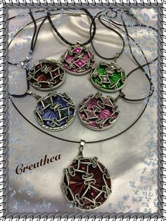Diy Jewelry, Jewelery, Handmade Jewelry, Coffee Pods, Wire Weaving, Schmuck Design, Washer Necklace, Bling, Inspiration