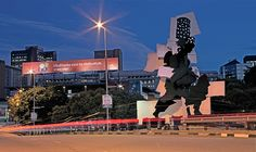 Fire Walker by William Kentridge and Gerhard Marx (I get to drive past this every day on my way into Joburg)
