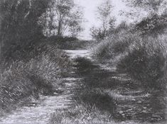 Michael Wann (pencil on m.d.f.)