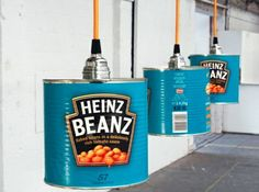I think large olive oil tins would be awesome! Hergebruik