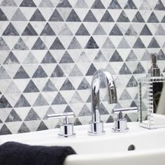 Krista Watterworth Patience Carrara And Bardiglio Marble Tile | Tilebar.com