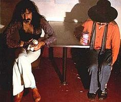 "Released on October 2, 1975, ""Bongo Fury"" is an album released by Frank Zappa and Captain Beefheart.  TODAY in LA COLLECTION on RVJ >> http://go.rvj.pm/4il"