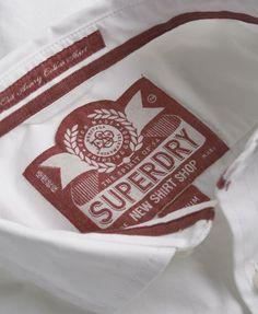 Superdry Cut Away Collar Shirt - Men's Shirts