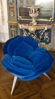 Rose Chair - Design Masanori Umeda for the Flower Collection by Edra - Italy