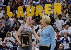 """Lauren Hill has died. The 19-year-old Mount St. Joseph student, who fulfilled her dream of playing in a college basketball game in spite of a viciously aggressive brain cancer, inspired millions with her """"never give up"""" attitude."""
