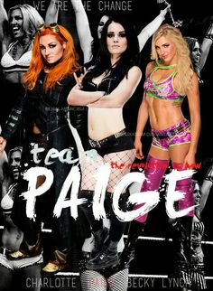 Becky Lynch Paige & Charlotte