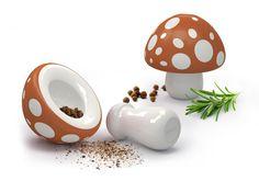 Mushroom mortar and pestle - Jenny's Portfolio