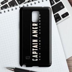Captain America Soldier Samsung Galaxy Note 5 Case   casefantasy