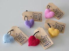 نتيجة بحث الصور عن packaging ideas for crochet items Crochet Gifts, Crochet Yarn, Crochet Motifs, Crochet Patterns, Craft Packaging, Packaging Ideas, Crochet Keychain, Crochet Accessories, Yarn Crafts