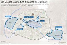 Paris s'apprête à se vider des voitures pour une journée