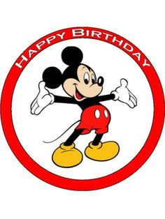 I Ain't Mickey Mousin' Around. I Mean It. Happy Birthday!
