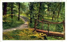 Beauty Spot in Sinnissippi Gardens  Rockford, Illinois