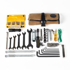The Union Garage Deluxe Tool Roll is a comprehensive motorcycle maintenance kit designed to handle emergency repairs on the road and regular service in the shop. The roll itself is built from durable 10.10-ounce waxed cotton and reinforced with leather. And the 50-piece premium tool complement has been carefully chosen and painstakingly sourced to help keep your steed running strong, yet still pack down small enough to comfortably carry on a motorcycle.  We unapologetically modeled our tool…
