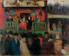 Fairground, 1900 - Pablo Picasso