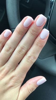 50 Simple Summer Nails Art Designs For Short Nails - Summer Nail Purple Ideen Neutral Nails, Nude Nails, Gel Nails, Acrylic Nails, Shellac, Manicures, Coffin Nails, Milky Nails, Manicure E Pedicure