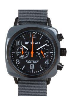 #briston #watch #chronograph date #greyarmy