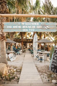 Sea You Beach Bar - one of the most loved places near Paphos - a beach bar with stunning sunsets, the sounds of the sea and cocktails on the go. You gotta see this if you're visiting Paphos!